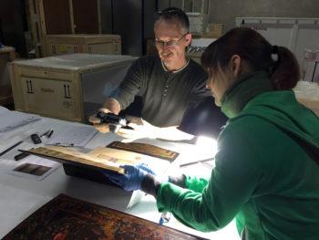 Atelier Dirk Ferlmann Restaurierung Buchmalerei