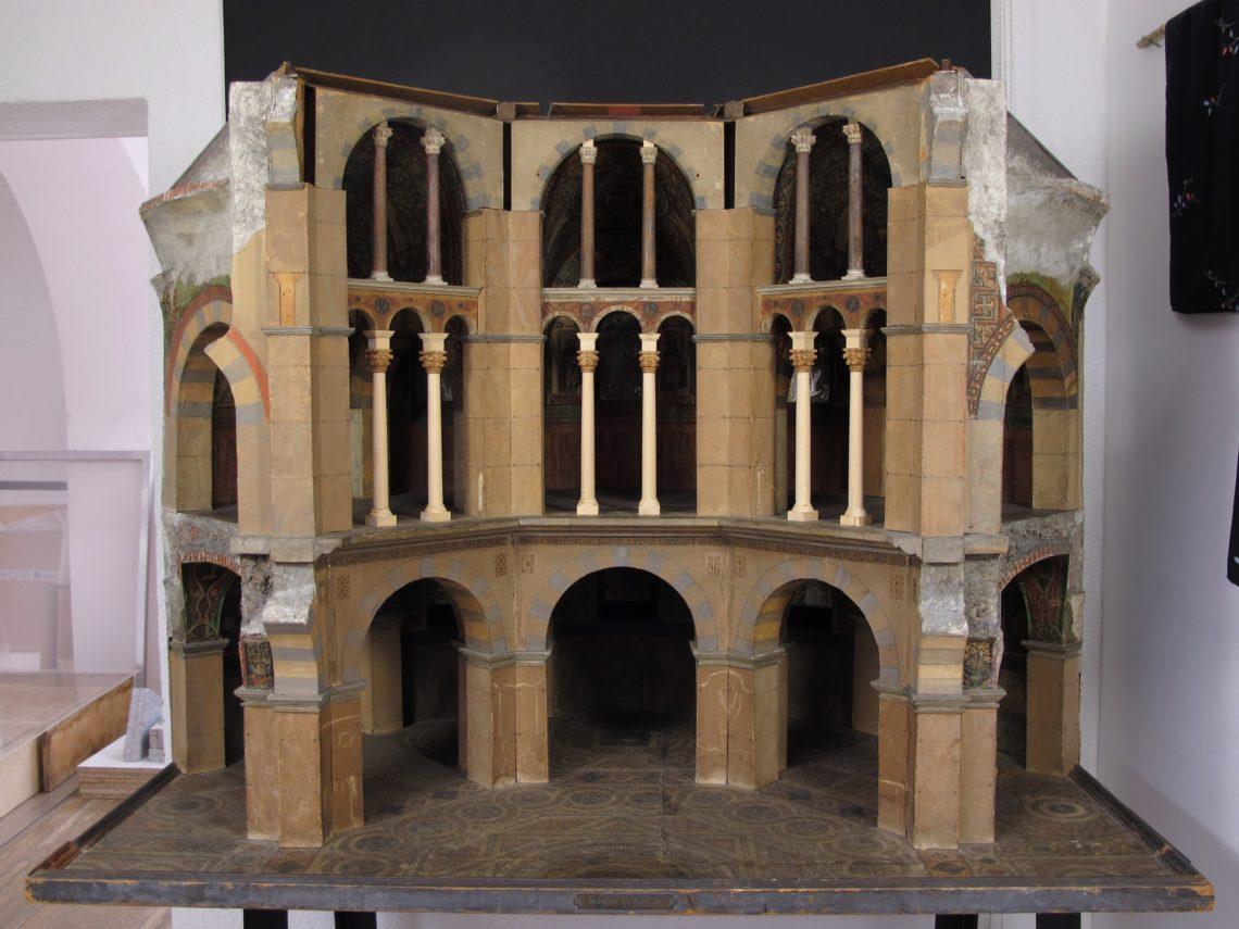 Restaurierung Architekturmodell