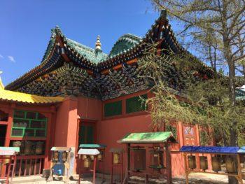 Buddhistischer Tempel in Ulan Bator Restaurierung Gandan-Kloster Goethe-Institut