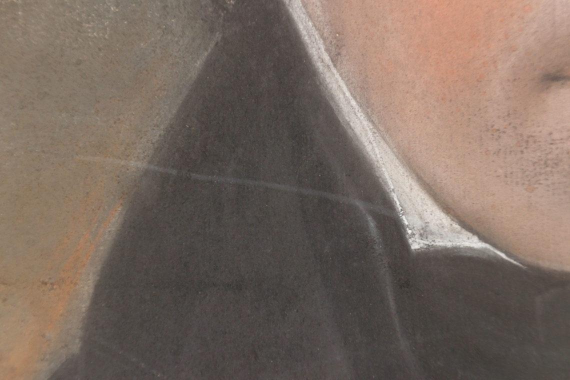 Pastell Restaurierung Kratzer