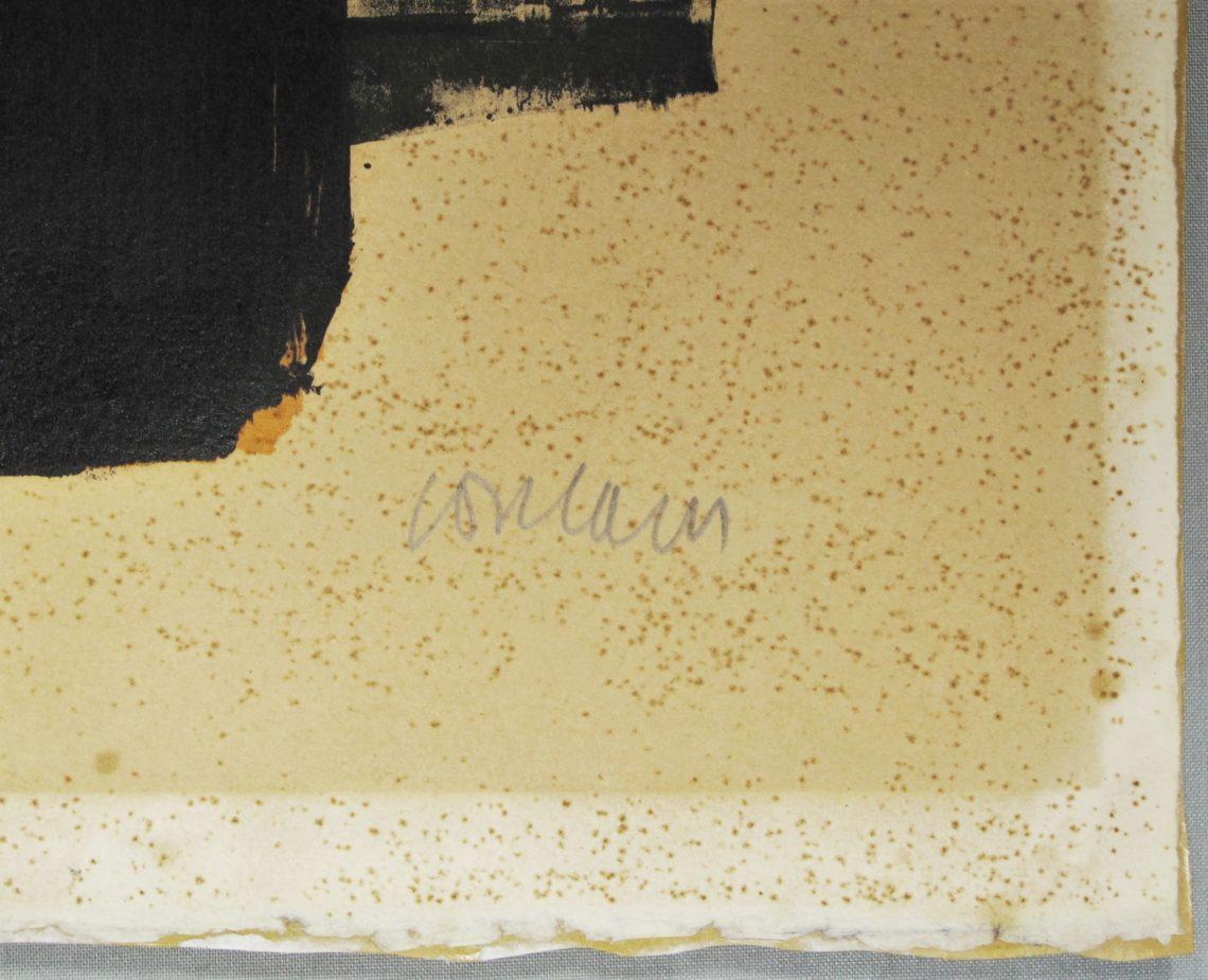 Restaurierung Lithografie Bleiche